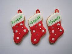 Christmas gifts cookies from Hotel Kristoff for guests