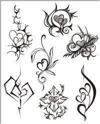 Image result for star pattern tattoo designs