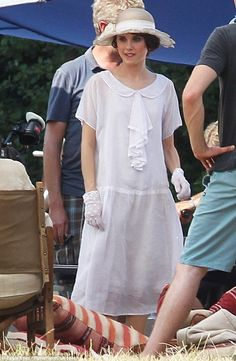 Image result for downton abbey picnic dress