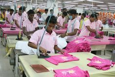 Garments finishing is an important section in readymade garments sector. It's the last section of garments manufacturing department.