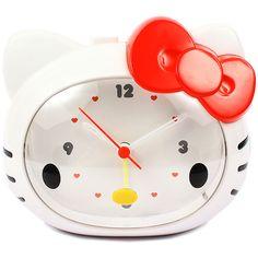 Hello Kitty alarm clock. Get it at Rakuten Global Market