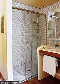 douche ouverte