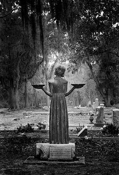 """Midnight, Bonaventure Cemetery"" Savannah, GA - 1993 © Jack Leigh Estate/Courtesy Laney Contemporary Fine Art"