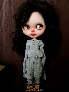 Blythe Doll Outfit / 1/6 doll size / Long sleeve by Dakawaiidolls