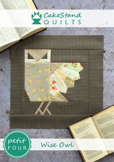 """One of nine original blocks created for the Spellbound Sampler A quilt that celebrates the imagery of autumn: turning leaves & misty mornings; festivals of fire & fairy tales at bedtime. MATERIALS: 14"""" finished block 1 Fat Quarter background fabric 1..."""