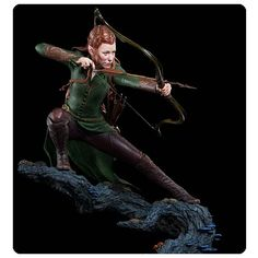 The Hobbit The Desolation of Smaug Tauriel 1:6 Scale Statue - Weta Collectibles - Hobbit / Lord of the Rings - Statues at Entertainment Earth