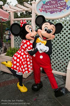 Mickey & Minnie Mouse