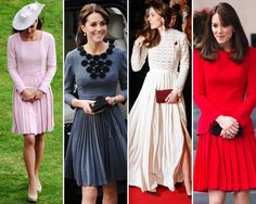 Kate Middleton's Style: The Elements of Her Trademark Looks Duchess Kate, Duke And Duchess, Duchess Of Cambridge, Queen Kate, Vanity Fair, Kate Middleton, Celebrities, How To Wear, Beautiful