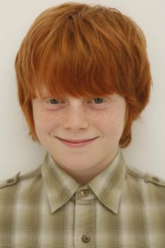 Looks like a weasley Brother... A Harry Potter fans out there.