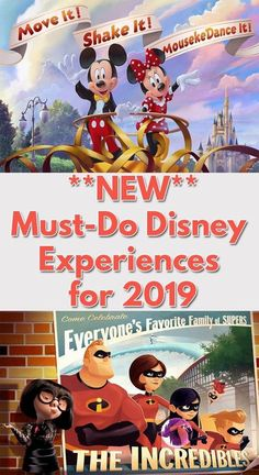 Disney World Why You'll Want to Start Planning NOW! Walt Disney World has just announced new events being added next year and once you read about them, you'll want to make Disney World 2019 a reality! Disney World Tipps, Disney World Tips And Tricks, Disney Tips, Disney Fun, Disney World Secrets, Disney Ideas, Disney Family, Disney Stuff, Disney Magic