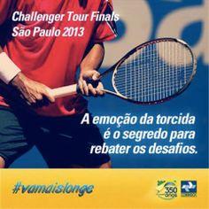 Com mais de 150 eventos pelo mundo, o ATP Challenger Tour Finals é o circuito que revela as grandes estrelas do tênis. O evento traz ao Brasil, de 13 a 17 de novembro, grandes tenistas que se destacaram em Challengers pelo mundo em 2013 e entre eles está o brasileiro Guilherme Clezar. Vamos preparar nossa torcida. o/