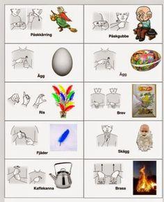 Blogg om tecken som stöd Sign Language Book, Learn Swedish, Swedish Language, Mini Craft, Special Needs, Special Education, Preschool, Autism, Classroom