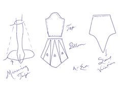 Pattern for Medieval Trumpet/Bell Sleeve, I would basically cut out a circle, and cut out a hole the size of the arm-sleeve-part, similar to a circle skirt, and sew it on the sleeve.<-- this is a really good idea for altering the sleeves on a dress Sewing Patterns Free, Sewing Tutorials, Clothing Patterns, Sewing Clothes, Diy Clothes, Dress Alterations, Make Your Own Clothes, Costume Patterns, Pattern Cutting
