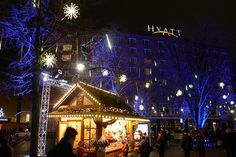 Grand Hyatt Hotel Berlin at Christmas