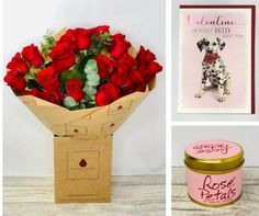Valentines Passionate Rose Gift Set: Booker Flowers and Gifts. #valentinesflowers #liverpoolflorist #flowersdelivered #flowerdelivery | Booker Flowers and Gifts Liverpool, Merseyside | Flower Delivery Liverpool - Same Day Delivery option | Florist Liverpool | Flower & Gift Shop Liverpool I Love You Balloons, Love Balloon, Gin Gifts, Pink Rose Bouquet, Valentines Flowers, Rose Gift, Flowers Delivered, Mini Roses, Romantic Flowers