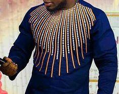 Africain vêtements, chemise pour homme, hommes, hommes chemise africaine, broderie, vêtements