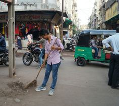 Done the #CleanIndia In my area, Join this camapign and lets make India Clean #bhushan......