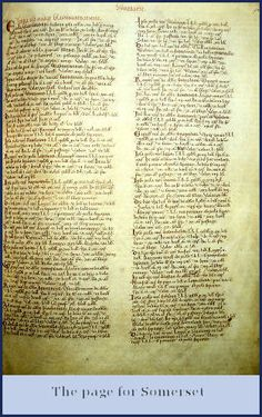 Why was the domesday book made