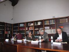 Da sinistra Francesco Ronzon, Paola Di Cori, Alessandro Arcangeli, Riccardo Panattoni