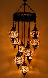 These rain and sea life motif chandeliers bring the beauty of nature turkish mosaic lamp 9 balls turkish moroccan hanging glass mosaic chandelier lamp lighting from ottoman time handmade item aloadofball Choice Image