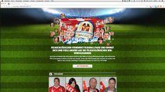 STREUPLAN | Agentur für integrierte Below the Line-Kommunikation: Feldschlösschen verbindet mit unserer WM-App die Fussballfans