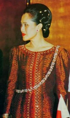 H.M.The Queen Sirikit of Thailand.