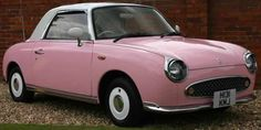 Nissan figaro - one day I will have one - repinned for the pink crowd