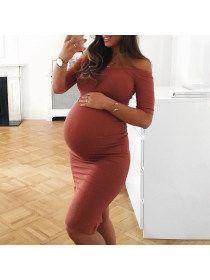 Maternity Off Shoulder Bodycon Dress – peekkabo Cheap Maternity Clothes Online, Maternity Dresses For Baby Shower, Maternity Dresses Summer, Casual Maternity, Maternity Fashion, Maternity Outfits, Maternity Clothing, Maternity Pictures, Striped Maxi Dresses