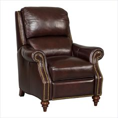 Hooker Furniture has been an industry leader for quality bedroom sets, dining room sets, living room furnishings, and home office furniture for over 90 years. Hooker Furniture, Leather Furniture, Large Furniture, Quality Furniture, Living Room Chairs, Living Room Furniture, Furniture Decor, Brown Leather Recliner Chair, Leather Chairs