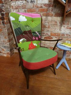 60s 70s Ercol Windsor Armchair Model 478 Retro Vintage Furniture - everything tells a story.