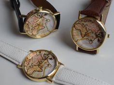 """World map"" Uhr"