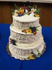 Wildflower Wedding Cake ideas