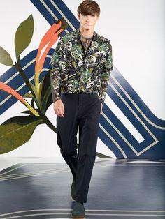Perry Ellis SS17.  menswear mnswr mens style mens fashion fashion style perryellis runway