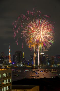 Time Travel, Places To Travel, Places To Visit, Fireworks Festival, Japanese Love, Fire Works, Zen, Tokyo Tower, Hanabi