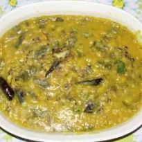 Panchratna Dal: A tasty and healthy Sindhi dal preparation with five lentils: Moong, channa, masoor, urad and tuar or arhar cooked with masalas to make a creamy dish