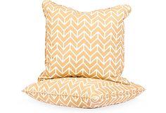 Schumacher Textile Pillows, Pair III on OneKingsLane.com