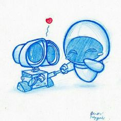 Walle and eve :-)