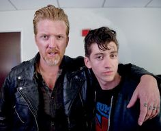 Watch #JoshHomme of #TheQueensOfTheStoneAge perform with #ArcticMonkeys in Los Angeles.