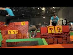 Tempest Freerunning Academy - California's first indoor facillity dedicated solely to freerunning and parkour. And it actually looks kind of fun.