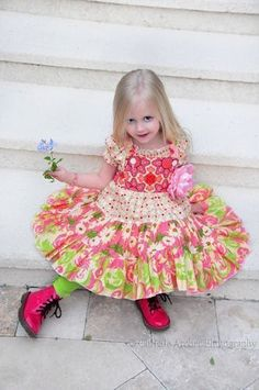 Nini Twirl Dress / Jumper Ruffles Pattern  by by spiceberrycottage, $14.00