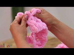Alize Puffy ile Saç Örgü (Model 8) - YouTube