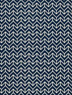 DecoratorsBest - Detail1 - Sch 2644031 - Chevron Print - Navy - Fabrics - DecoratorsBest