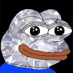 this is even rarer than the golden pepe, the diamond pepe