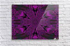 Purple Song Acrylic Print