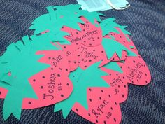 Strawberry Door Decs
