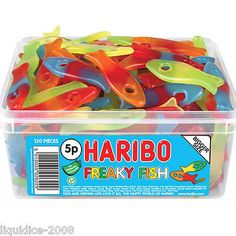 Sweets & Chocolate Haribo Freaky Fish Sweets Candy Party Bags Favours Pick N Mix Retro Jars Halal & Garden Party Bags, Party Favors, Fini Tubes, Haribo Sweets, Wholesale Candy, Sleepover Food, Kids Winter Fashion, Pick And Mix, Candy Party
