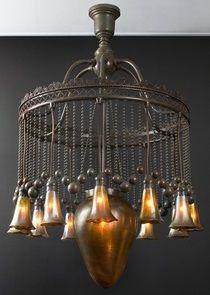 Moorish art nouveau chandelier, Tiffany jj Bohemian/Gypsy/Eclectic
