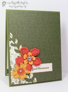 And Many More Botanical Blooms by amyk3868 - Cards and Paper Crafts at Splitcoaststampers