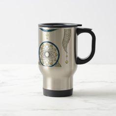 Dreamcatcher Travel Mug - traditional gift idea diy unique