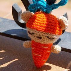 Zanahoria-osito!   Manualidades Gratis
